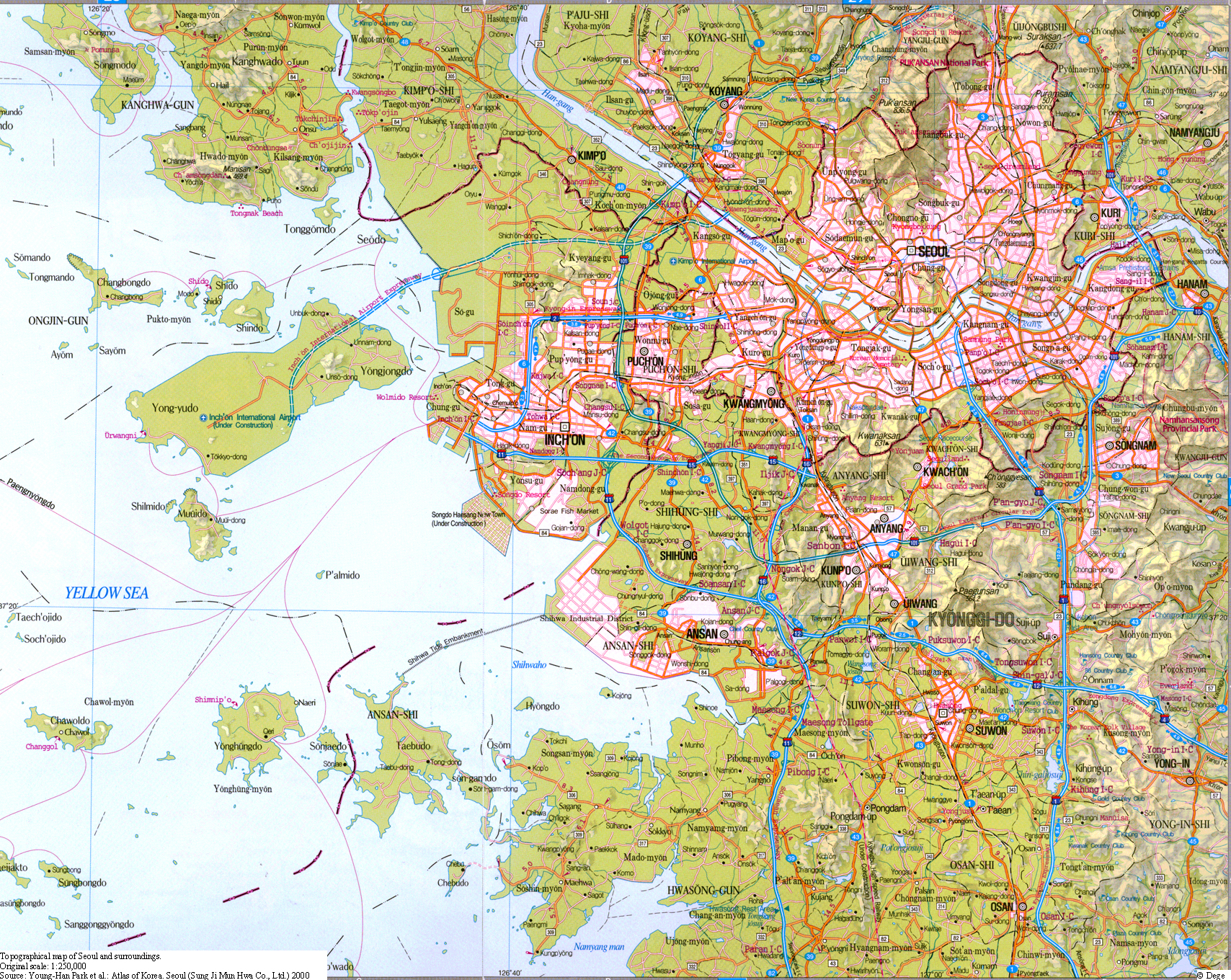 Seoul Subway Map 1980s.Which Are The World S Super Cities Hyper Cities And Mega Cities